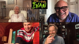 THE ONE AND ONLY IVAN with Bryan Cranston, Danny Devito, Helen Mirren and Sam Rockwell