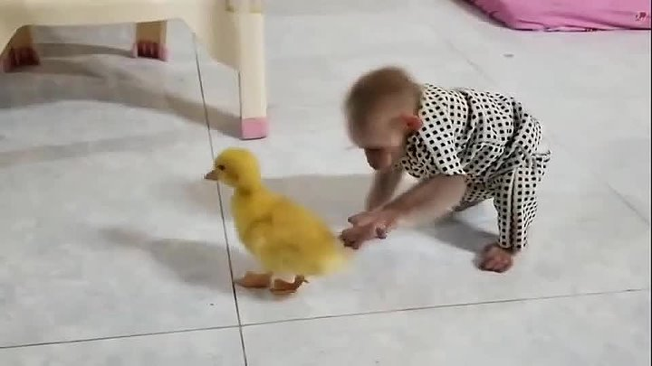 Как нежно и с любовью Два дитя нашли друг друга