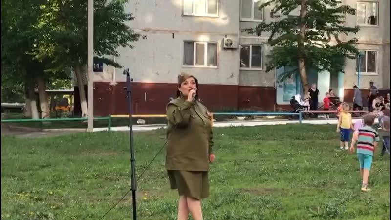 Наталья Сачкова Синенький скромный платочек