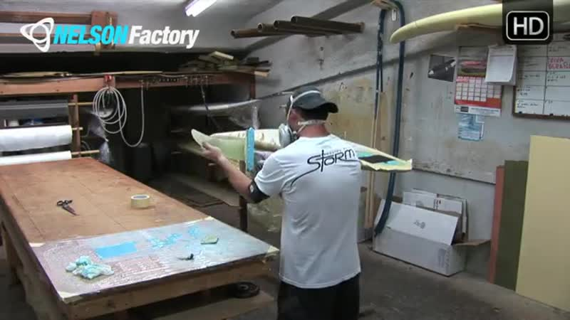 Nelson Factory Windsurfing Custom Boards No. 7