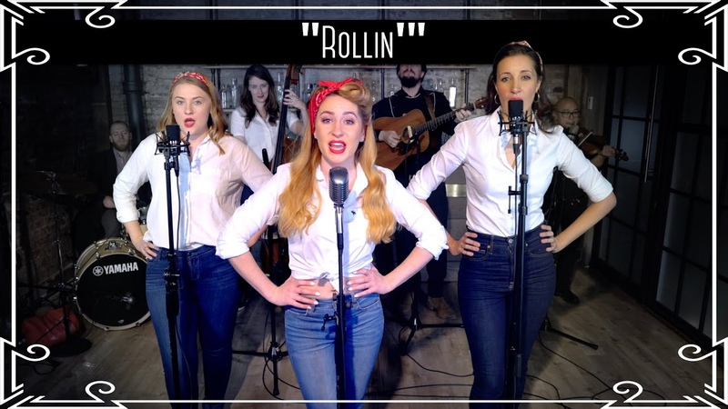 """Rollin'"""" Limp Bizkit Country Cover by Robyn Adele Anderson ft Sarah Krauss Julianne Daly"""