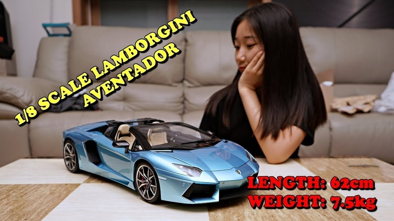 SUPERCAR Lamborghini aventador Roadster 람보르기니 65cm 7kg ★FULL BUILD PAINTING