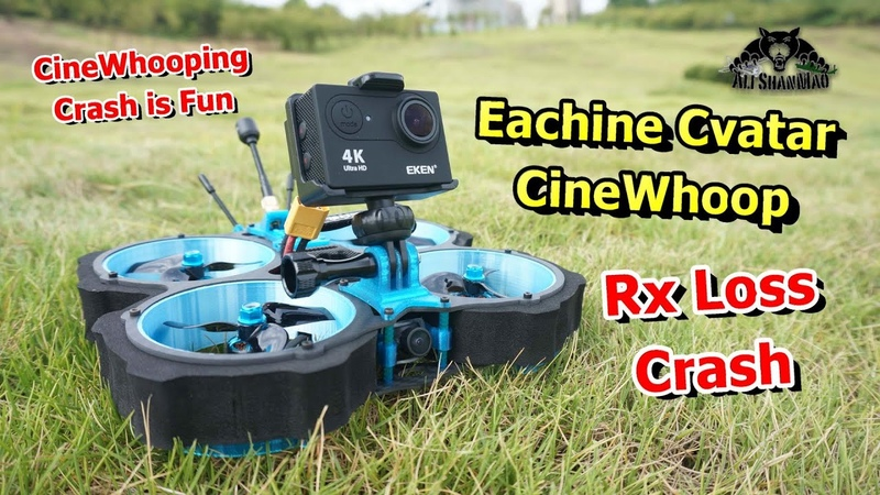 Eachine Cvatar 3 Inch Ducted Fan CineWhoop Epic RX Loss Crash
