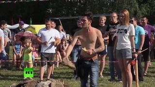 Чемпионат по метанию коровьих лепешек прошел в Пермском крае