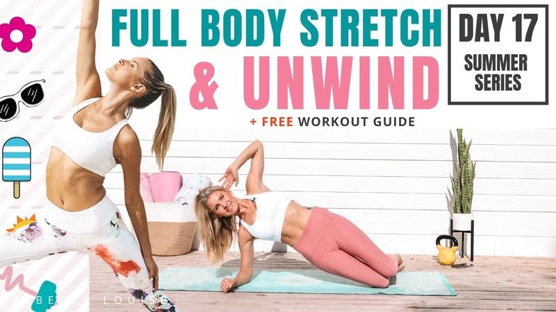 Растяжка всего тела и расслабление FULL BODY STRETCH UNWIND self care relaxation
