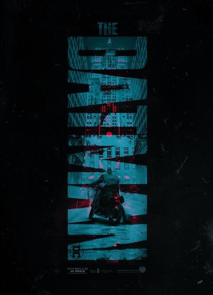 Фан-постер «Бэтмена» от BossLogic