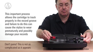 AT-LP3 Setup   Fully Automatic Belt-Drive Turntable