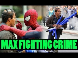 The Amazing Spider-Man 2| MAX DILLON CRIMEFIGHTING!? ELECTRO PICS!! More Spidey & Max Dillon HQ Pics