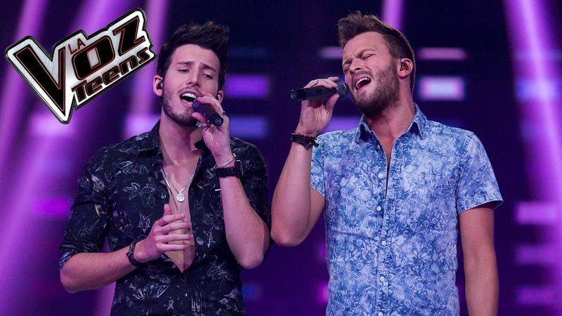 Gusi y Sebastián Yatra cantan 'Traicionera' y 'Eres'   La Voz Teens Colombia 2016