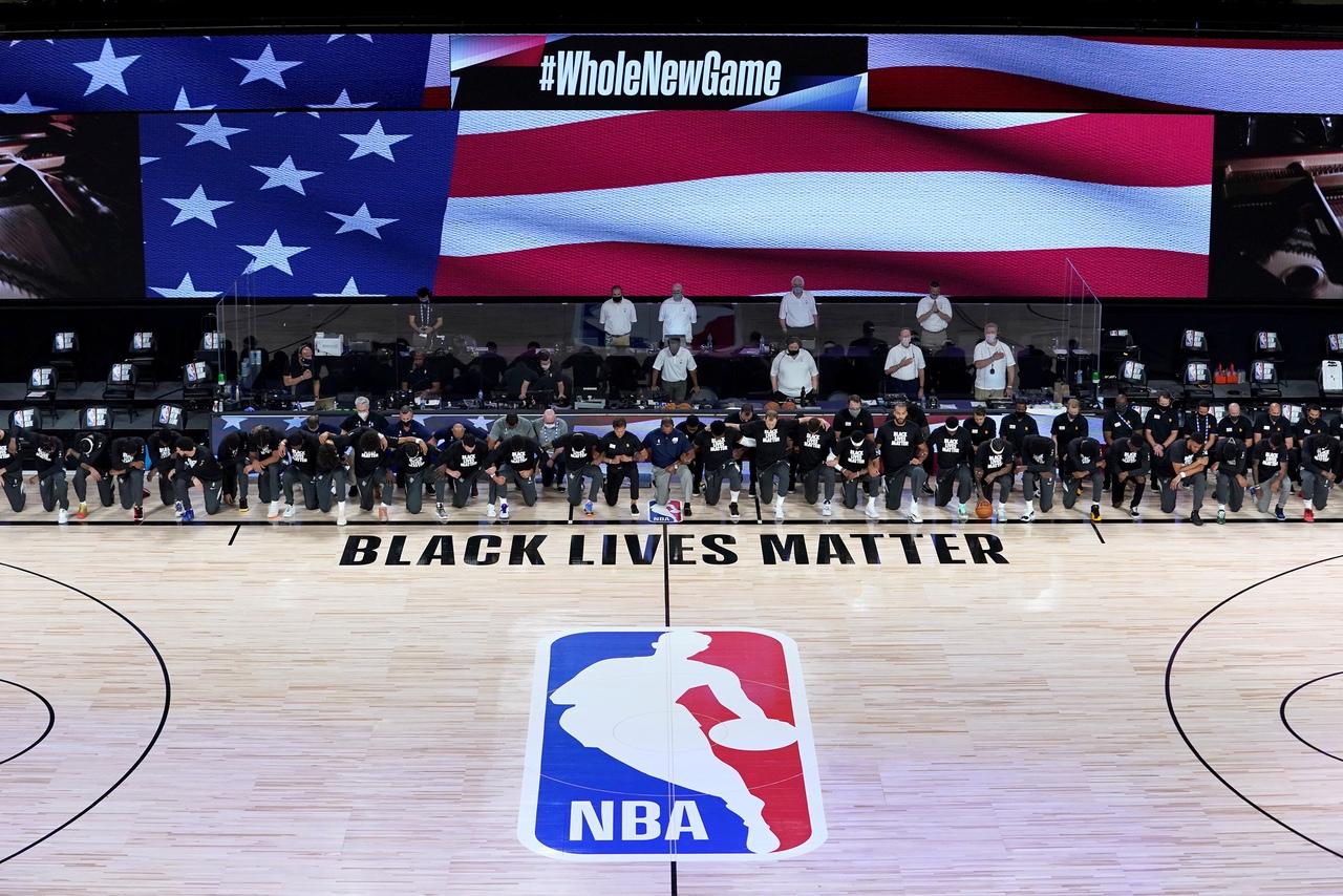 Агент жёстко раскритиковал НБА за поддержку Black Lives Mater