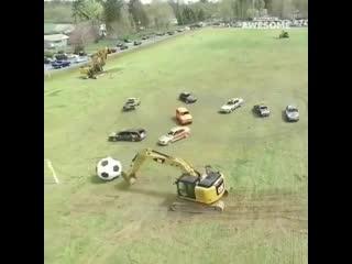 Вот это настоящий футбол