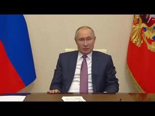 Президент России Владимир Путин провёл традиционную предновогоднюю встречу с членами Правительства.