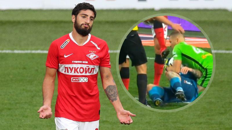 В КДК РФС отреагировали на призыв дисквалифицировать Жиго на 5 матчей после игры с «Зенитом»