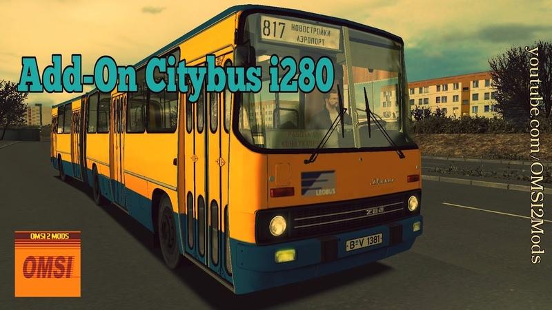 OMSI 2 Add On Citybus i280 Ikarus