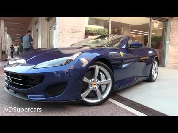 2018 Ferrari Portofino Start ups Tight showroom Parking Sound