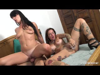 Aline, Eva - The Fire Is Burning Between Aline, 36, And Eva... (Anal, MILF, Big TIts, Threesome, Gonzo, Hardcore)