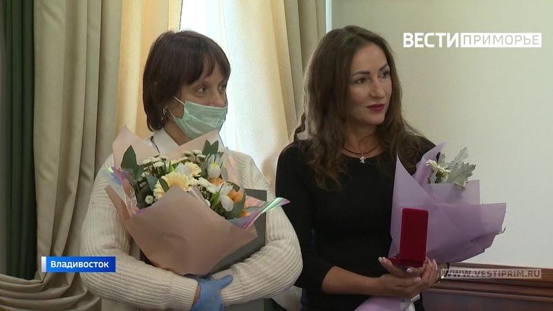 Орден Красной Звезды в Приморье вручили родственникам героя Великой Отечественной