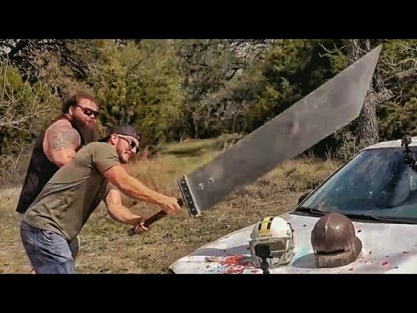 Мегамеч рубит машину и смеется в лицо бронебойной 50 BMG Разрушительное ранчо Перевод Zёбры
