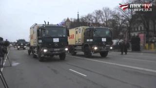 Латвия)) отвечает парадом войск России.mp4