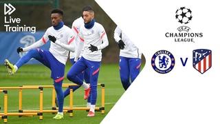 Chelsea Live Training   Chelsea v Atletico Madrid   UEFA Champions League