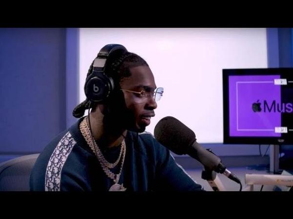 Последнее интервью Pop Smoke на Apple Music Podcast Русская озвучка