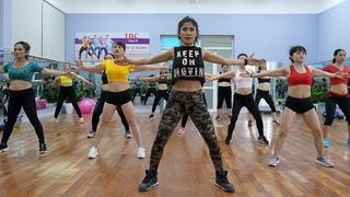 Senam aerobik pemula hanya 18 menit membakar lemak tubuh secara perlahan | Dance Fitness