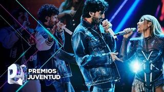 Danna Paola, Sebastián Yatra, Cali y El Dandee con 'No bailes sola' y con 'Locura'  Premios Juventud