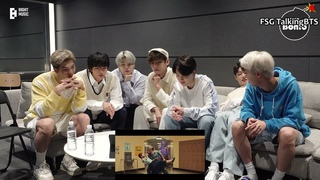 [RUS SUB][BANGTAN BOMB] 'Permission to Dance' MV Reaction - BTS русские субтитры