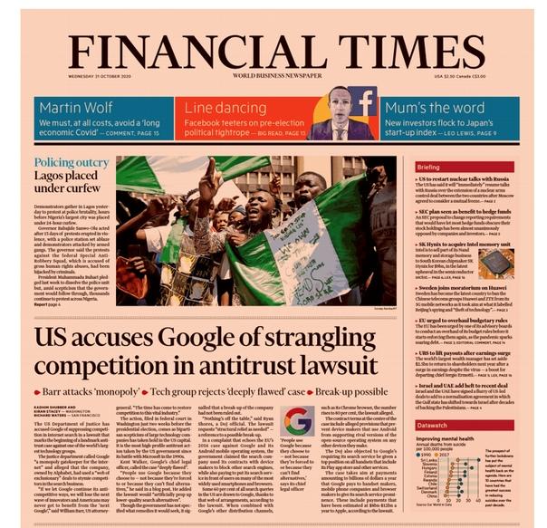 Financial Times Asia - October 21  2020 UserUpload.Net