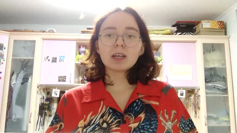 Полина Силантьева видео для Школы Актива Первокурсников