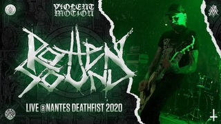 ROTTEN SOUND - LIVE @NANTES DEATHFIST 2020 - #WAREHOUSE - HD -  [FULL SET - MULTI CAM] 28/02/2020
