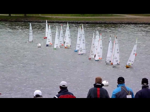 2012 MYA UK IOM Nationals Championship at Two Islands RYC, Day 1, 1st A fleet race.