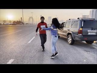 Баку Чеченская Лезгинка 2021 Девушка Танцует Просто Чудо С Парнем На Улице ALISHKA Ловзар Песня Хит