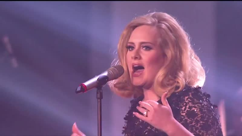 Adele - Rolling In The Deep (Live at The BRIT Awards 2012)