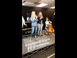 Zara Larsson performing Symphony at Kiss 108, 26-04-27