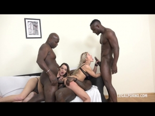 Cristina Tess and Samantha Joons - those two bitches have real passion for big black cock IV044