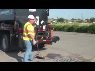 Ремонт дорог в США