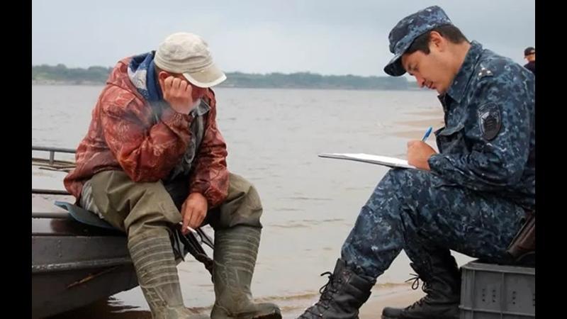 Штраф на рыбалке за нарушение карантина (самоизоляции)