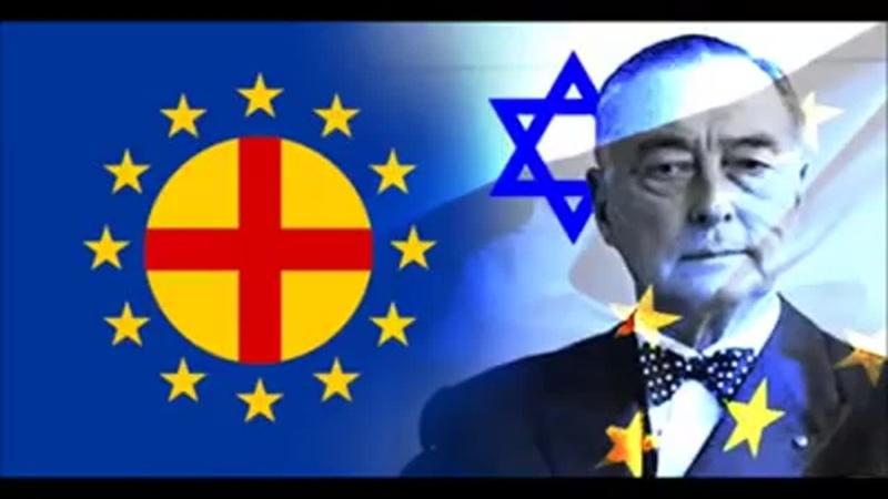 Kalergiho plán legálna genocída európskych národov pomocou miešania rás