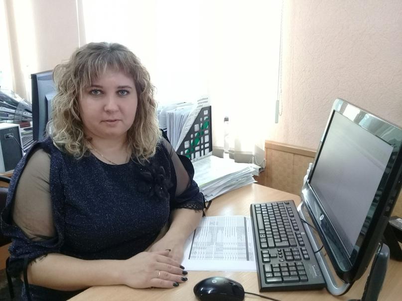 Т.Н.Татарникова на рабочем месте.