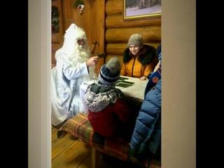 Дед Мороз в Ширяево