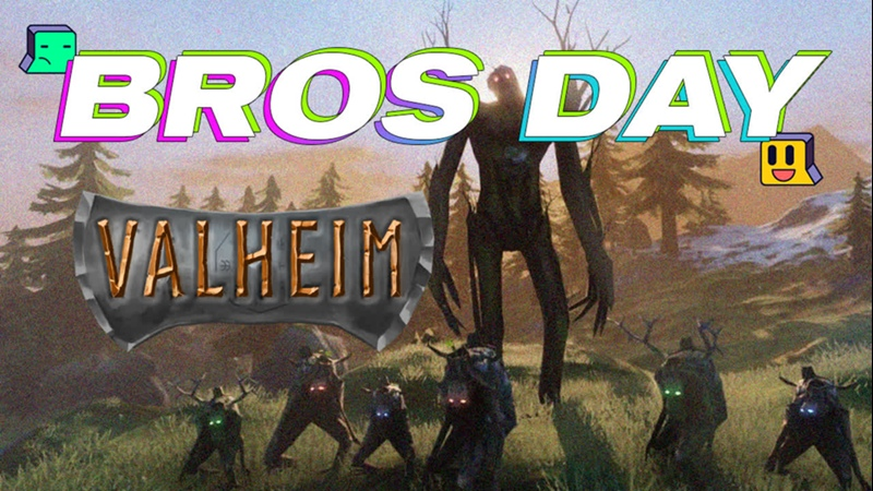 BROS DAY Valheim Рейд на босса