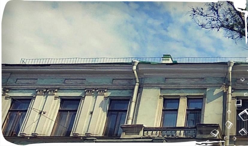 знаменитый доходный дом на Петроградской стороне