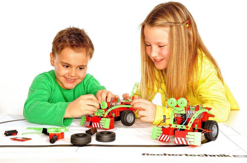 Набор робототехники для детей 6-7-8 лет