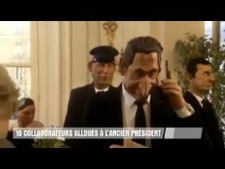 L'assistanat de Nicolas Sarkozy - Guignols de linfo sur Canal plus