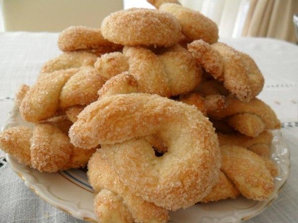 Печенье «Торчетти» с сахаром