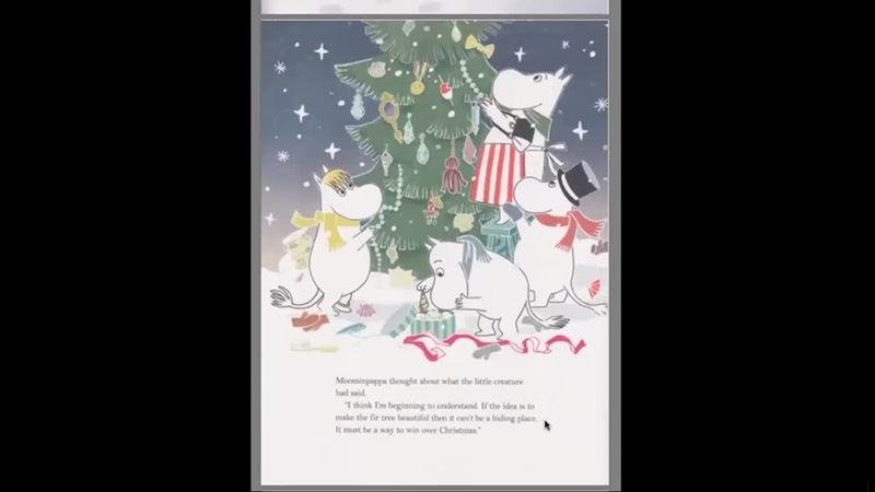 Christmas Comes to Moominvalley (after T. Jansson)