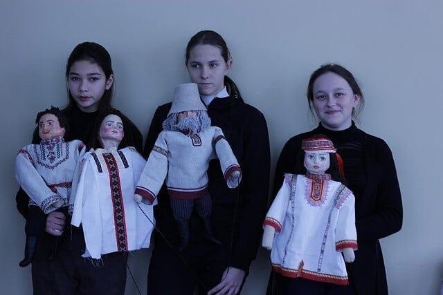 В доме культуры села Оркино создаётся кукольный театр