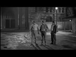 Link Wray- Rumble original 1958 instrumental with street video