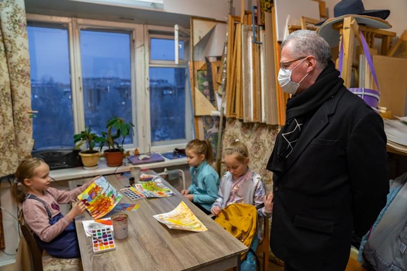 Президент Национальной галереи Коми Пьер Броше посетил Ухту, изображение №12